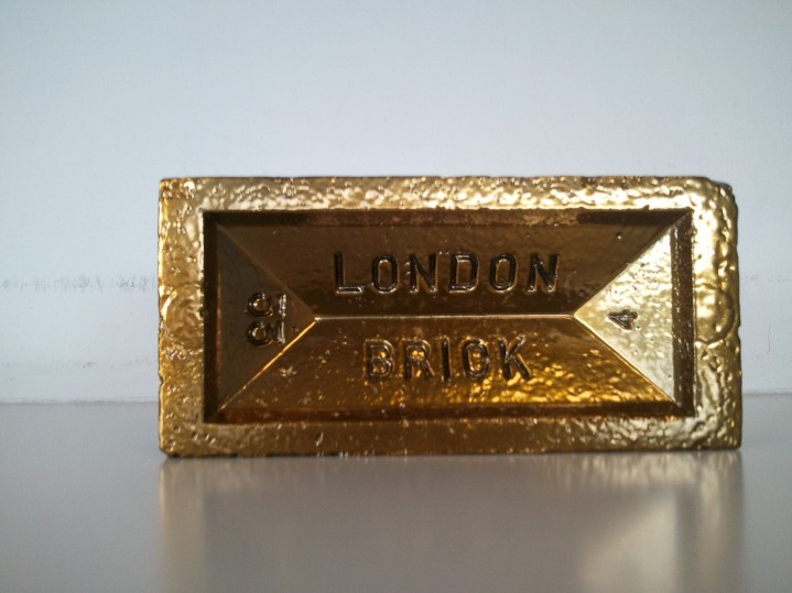 Gold London Brick